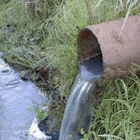 drainage outfall pipe